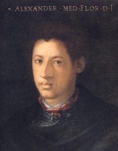 Allessandro-the-moor Cristofano dell Altissimo