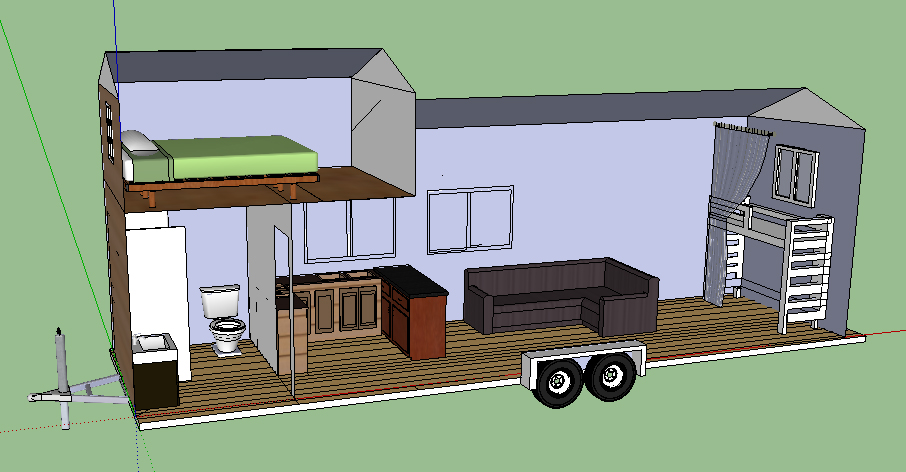 Small house trailer plans - House plans