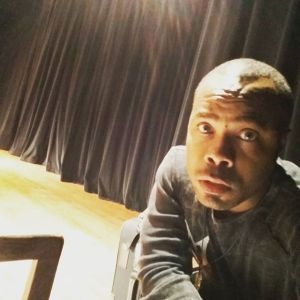 Sitting backstage waiting for my part # acting #rehearsals #dallasactor September 03, 2015 at 0754PM